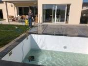 Pool auswintern
